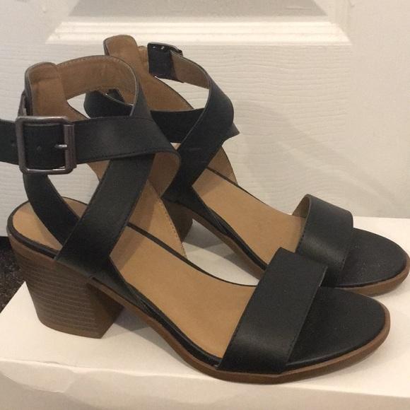 30009118258 Merona Block Heel Sandals. M 5ae4b5ca3b1608911212aa62